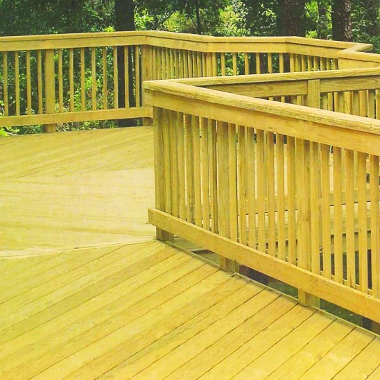 Pressured Treated Lumber<br /> Perfect for Decks!