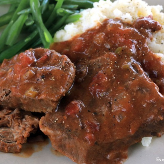 Swiss Steak Dinner