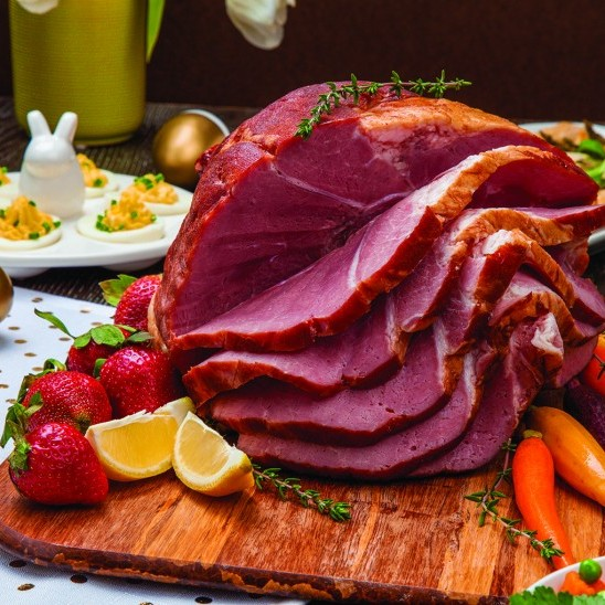 Hungry?  Try our roast beef and ham dinner.