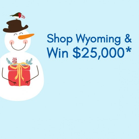 Shop in <br /> Wyoming County <br /> & Win Prizes*